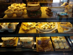 The tasty display at Palamino Espresso