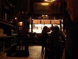 The Breslin Bar and Restaurant interior