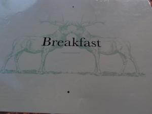 Elk Espresso breakfast