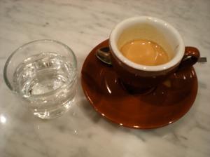 Blue Bottle espresso