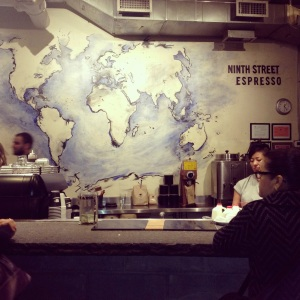 Ninth St espresso - Chelsea market outpost
