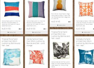 Southwood cushions