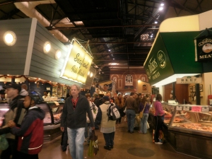 St Lawrence centre food hall