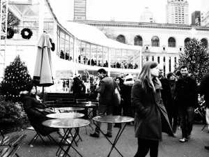 Winter at Bryant Park