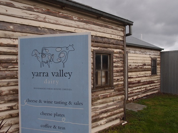 The shabby chic style of the Yarra Valley Dairy
