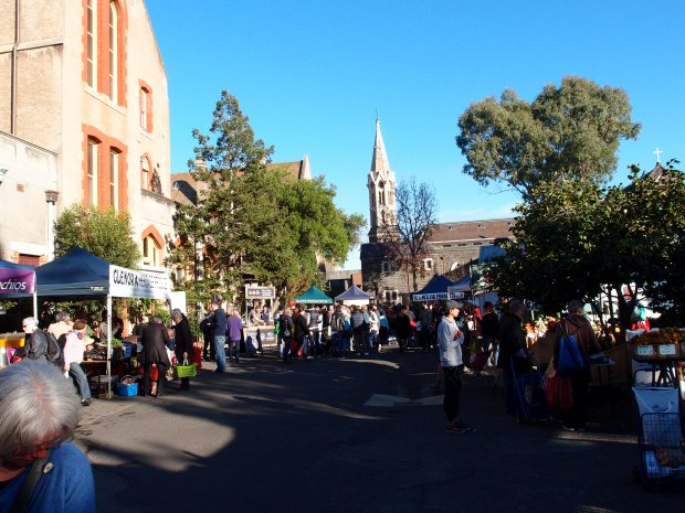 Another sunny morning at the Abbotsford Convent