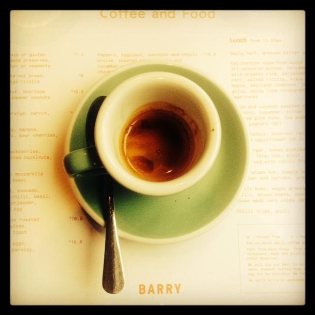 5 Senses double espresso
