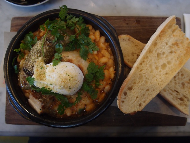 The hearty cassoulet