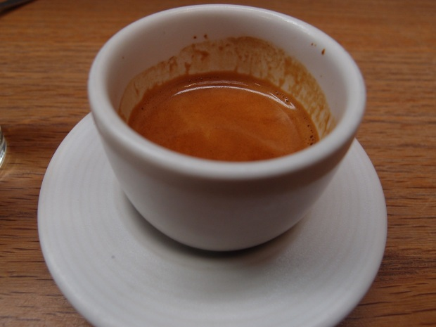 Double espresso of the Rose Street blend