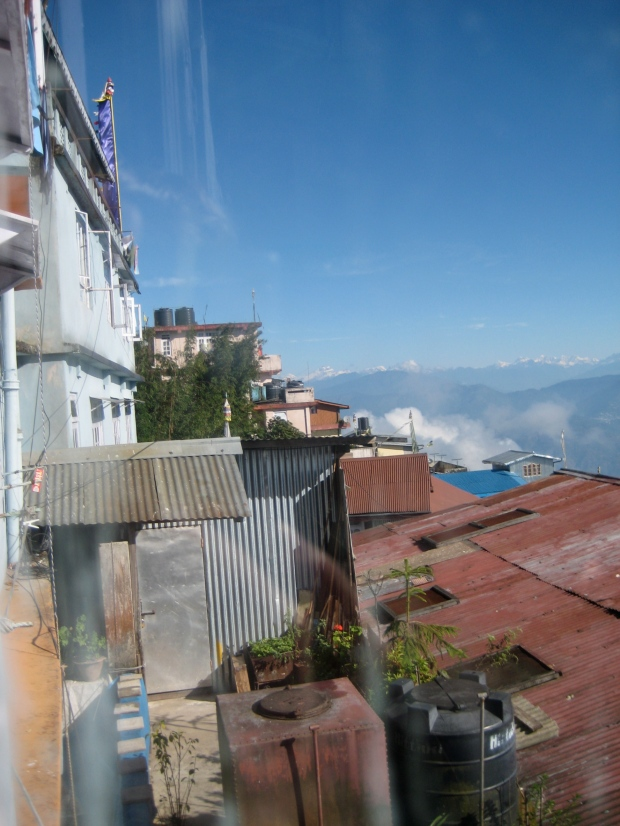One of the many views in Darjeeling