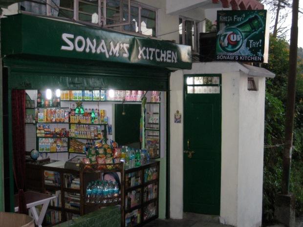 Sonam's lovely little kitchen
