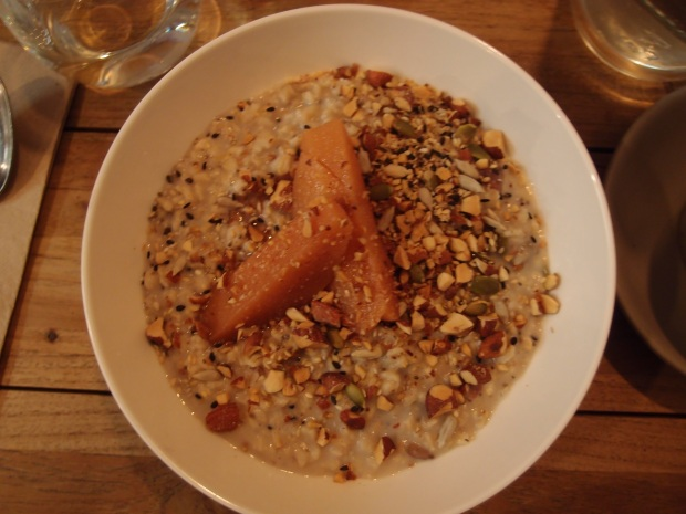 Feast of Merit - Almond porridge
