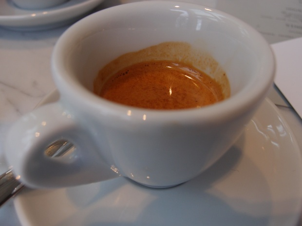 A 5 Senses double espresso