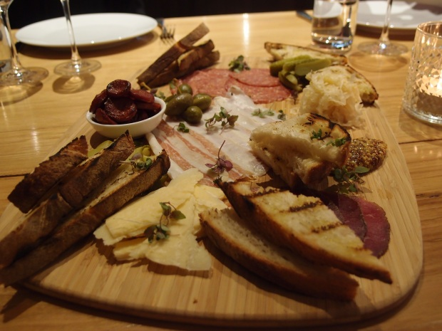 The northern Italian-style charcuterie board
