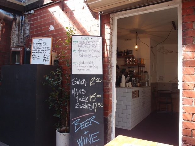 Inside meets outside at Little Bertie - cafe and bbq in one