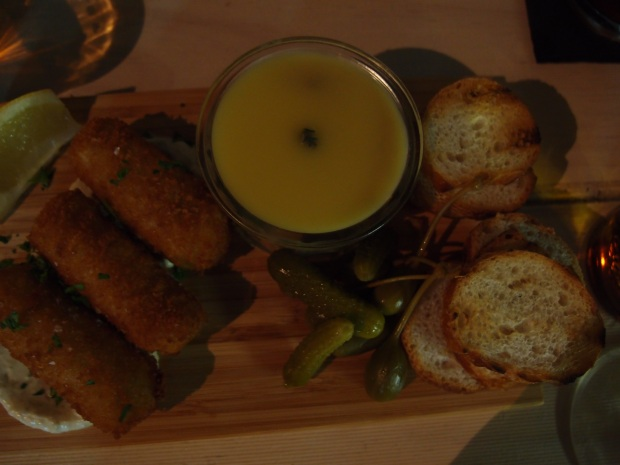 Pate and croquettes