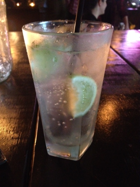 An ice cold gin and tonic with West Winds Gin