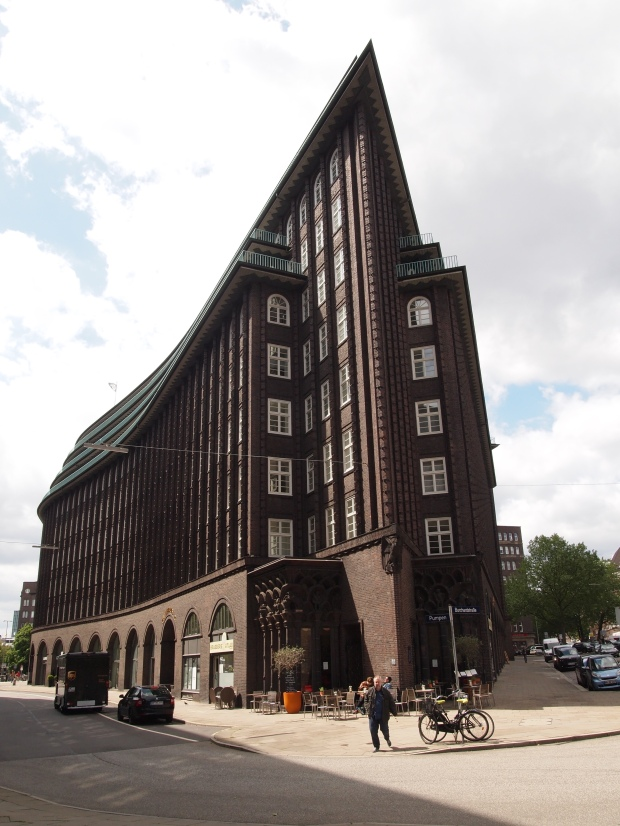 The Ship on land - the Chilehaus - a former shipping company headquaters today used as office spaces.