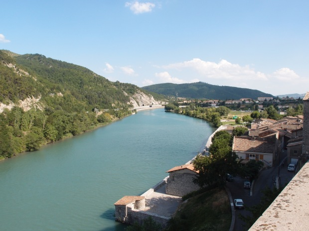 Just one of the breathtaking views on our drive from Nice to Antonaves. This one is just outside Sisteron.