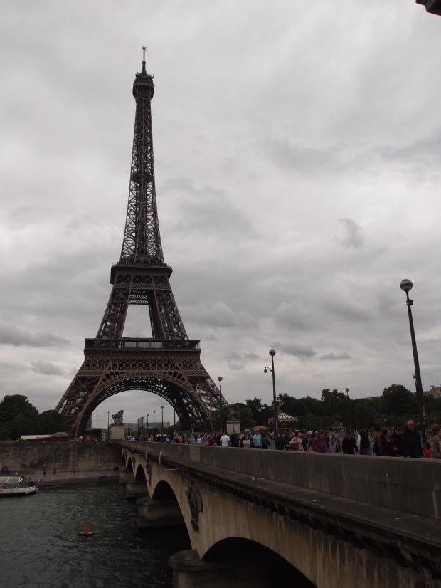 Le Tour Eiffel - the standard backdrop for a visit to Paris.