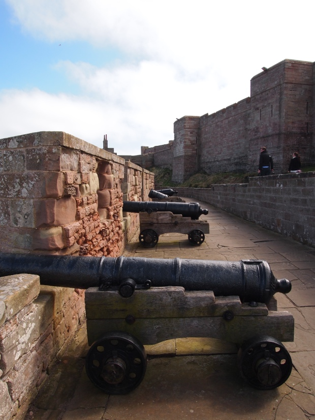 The Castle's surrounding cannons.