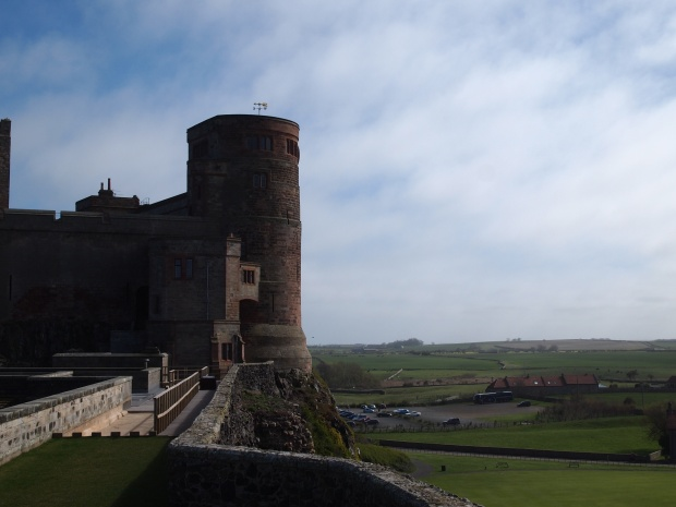Views across the countryside from the top of one of Bamburg's watch towers.