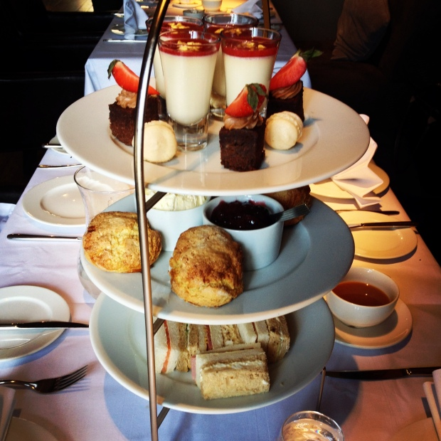 The ultimate tower of High Tea delights.
