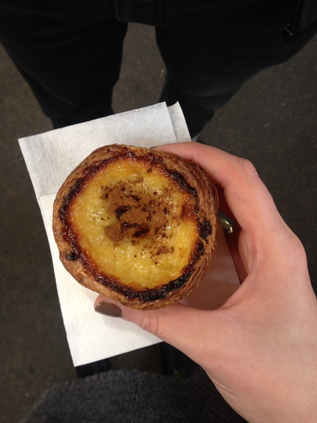 Portuguese tart from Natas.