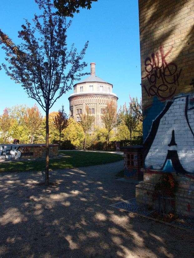 The wasserturm in Prenzlauer Berg.