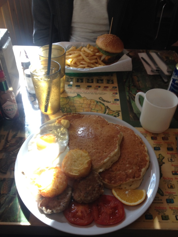 The Global Rambler - Nalu Diner - American food in Berlin.