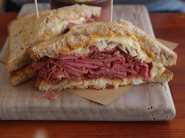 The pastrami at Mogg