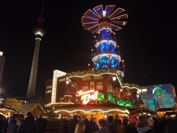 The centrepiece at Alexanderplatz