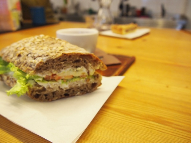 Fresh sandwiches from vegetarian to heavy meat toasties available at EMA.