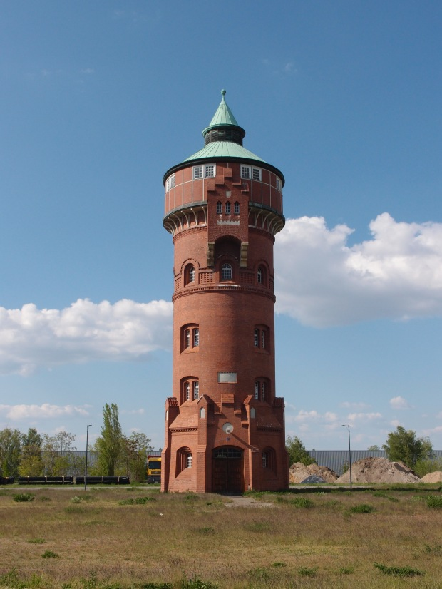 Castle tower at Stone Brewery Berlin.