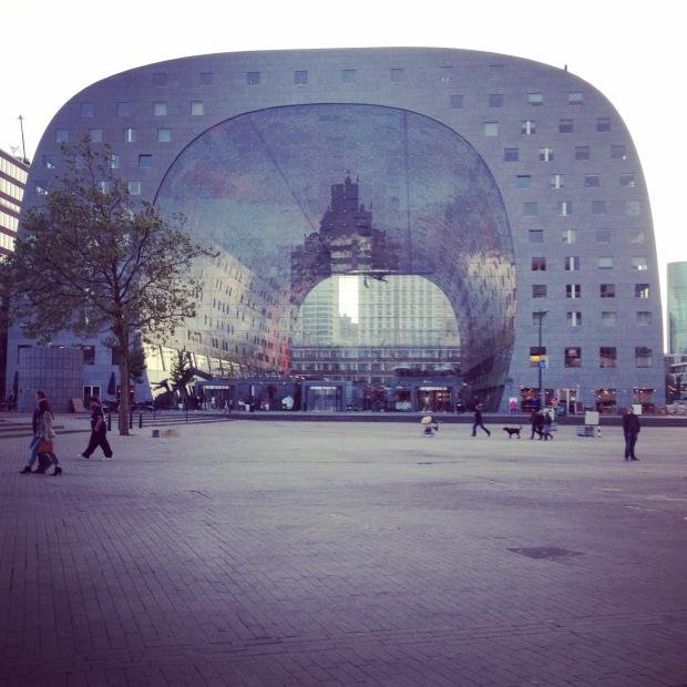The Markthalle.