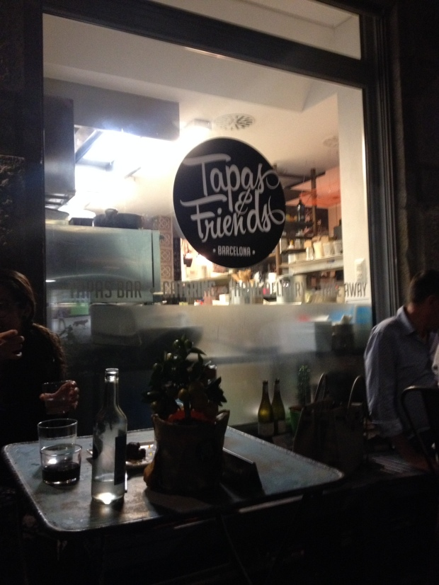 Tapas & Friends.