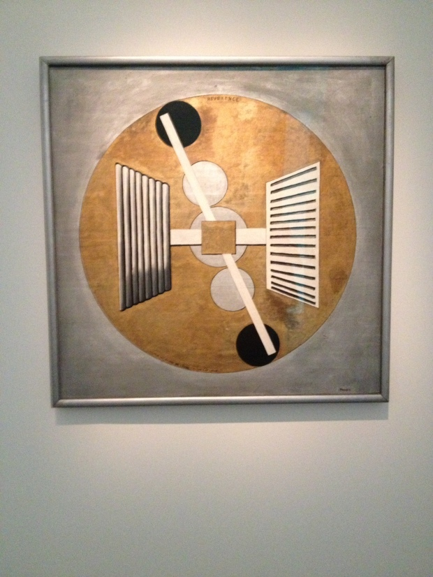 Just one of the hundreds of pieces on show for the Francis Picabia special summer exhibition.