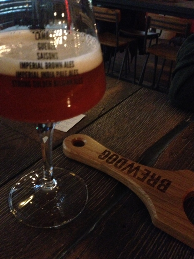 Ale at Brewdog opening weekend in Berlin.