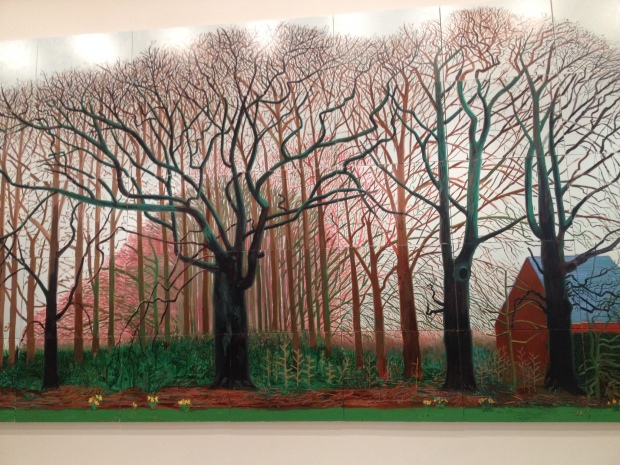 Bigger trees near Warter or ou Peinture sur le motif pour le Nouvel Age Post-Photographique (2008).