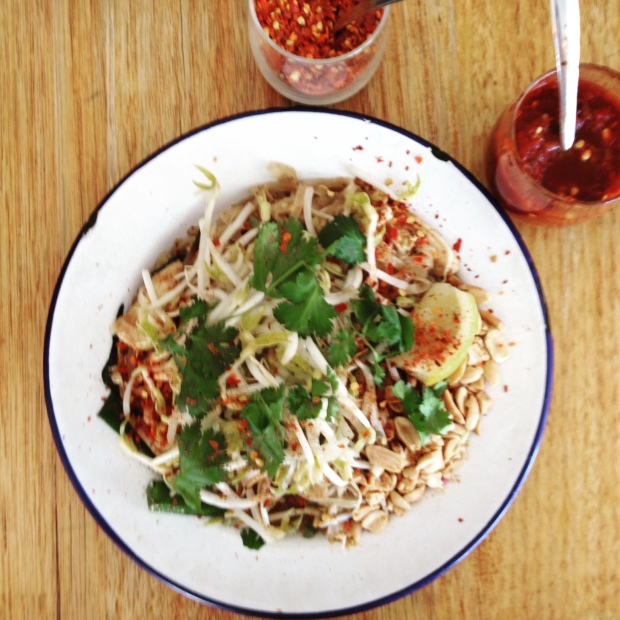 The crowd favourite Pad Thai.